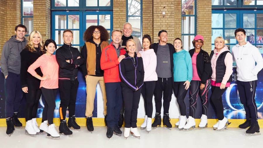 dancing on ice 2020 line up k