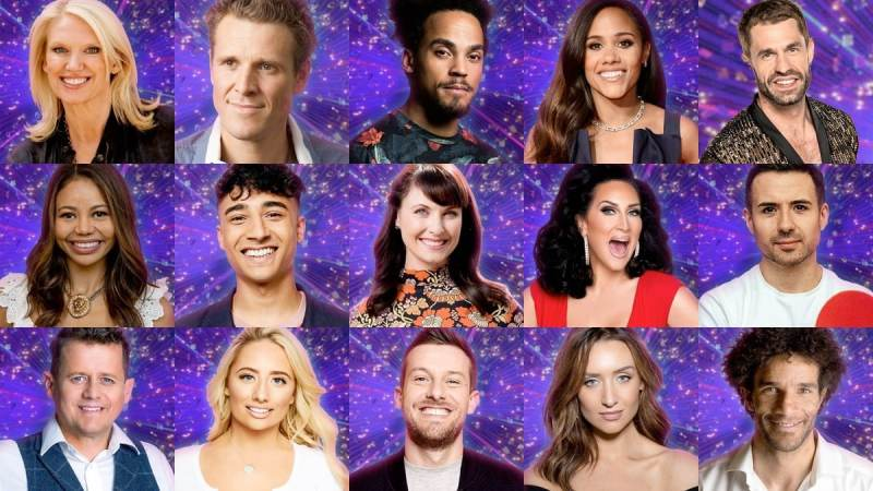 strictly come dancing line up - 15