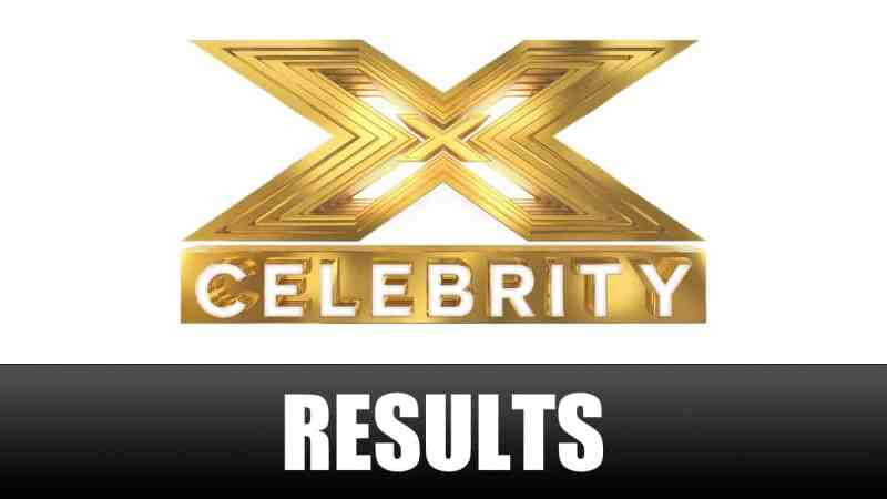 x factor celebrity results
