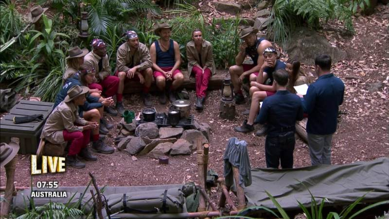 im a celebrity results group