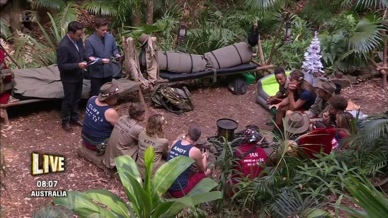 im a celebrity trial results 2019 ab 1 group