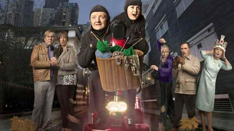 gangsta granny bbc one cast