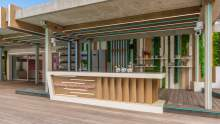 The Love Island villa: The kitchen