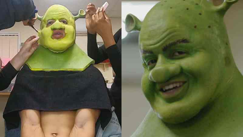 shrek dancing on ice radzi