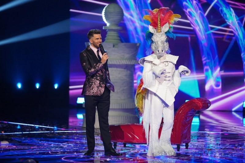 Unicorn with host Joel