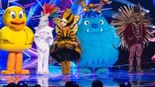 Duck, Unicorn, Queen Bee, Monster and Hedgehog.