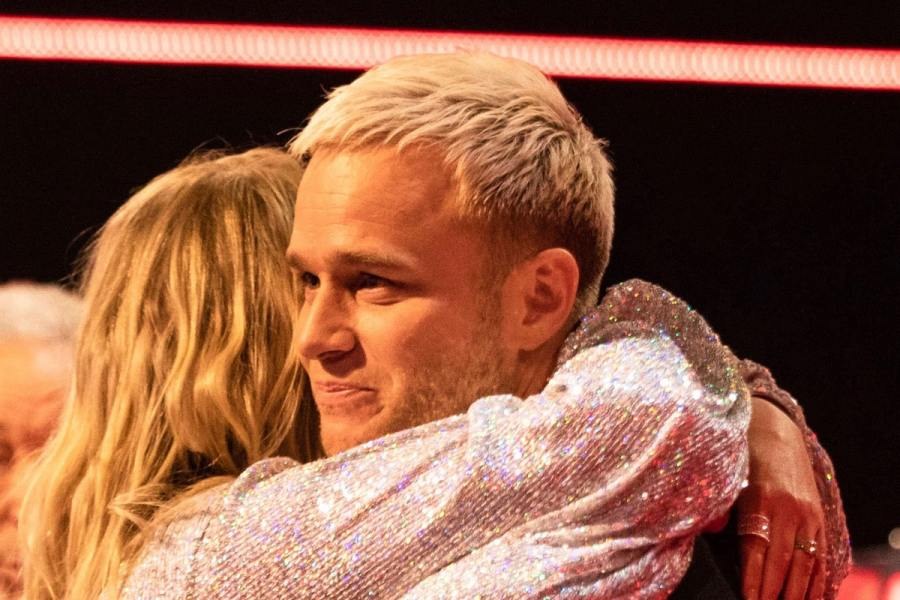 Olly Murs and Meghan Trainor.