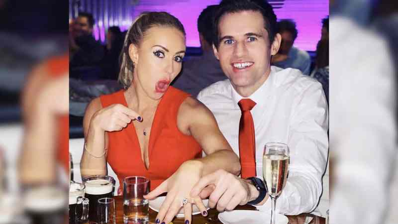 Kevin Kilbane and Brianne Delcourt