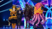Queen Bee, Joel Dommett, Hedgehog and Octopus.