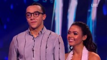 Perri Kiely dancing on ice