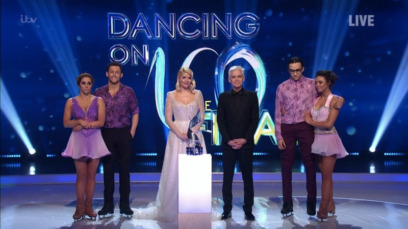dancing on ice 2020 results live final