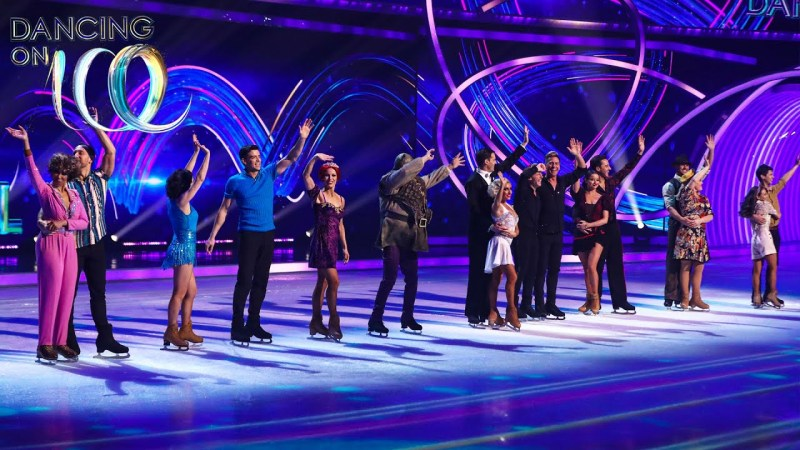 dancing on ice group skate