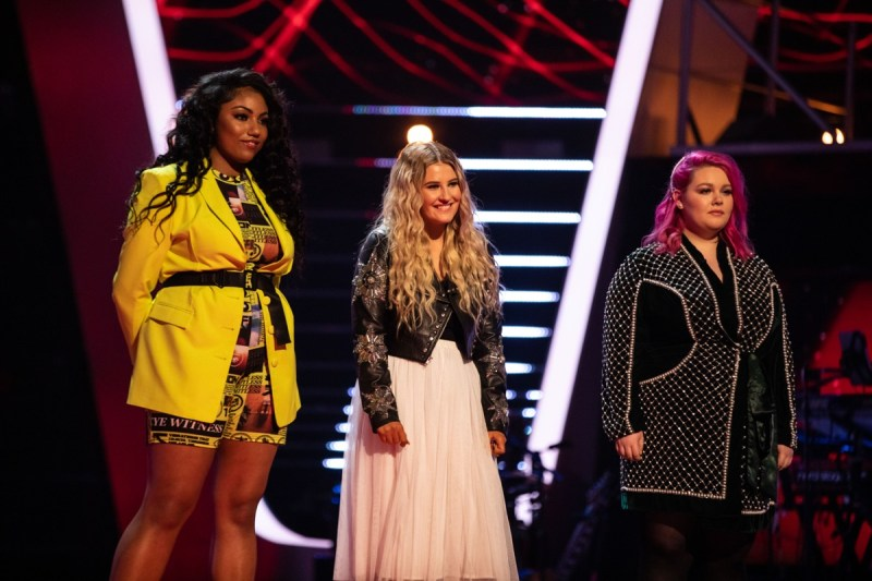 Team Meghan: Blaize China, Darci Wilders and Trinity-Leigh Cooper
