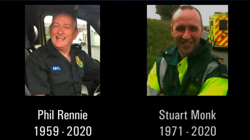 bbc one ambulance Stuart Monk and Phil Rennie