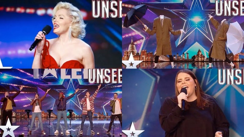 britains got talent unseen auditions