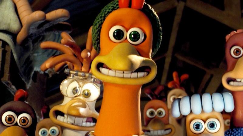 chicken run movie