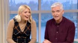 Holly Willoughby and Phillip Schofield this morning