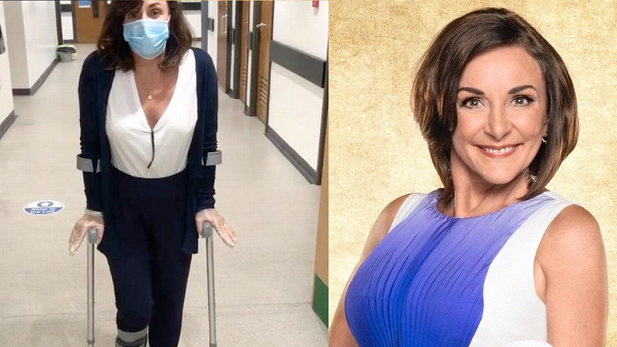 Shirley Ballas assures fans she'll be fine for Strictly after breaking ankle