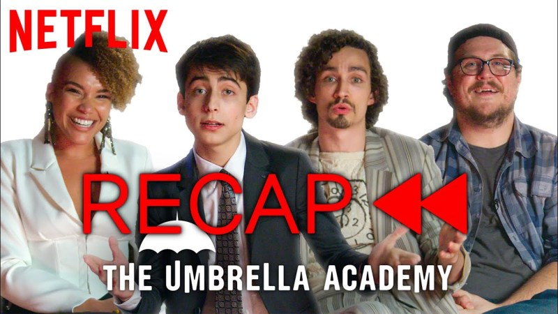 the umbrella academy season 1 recap