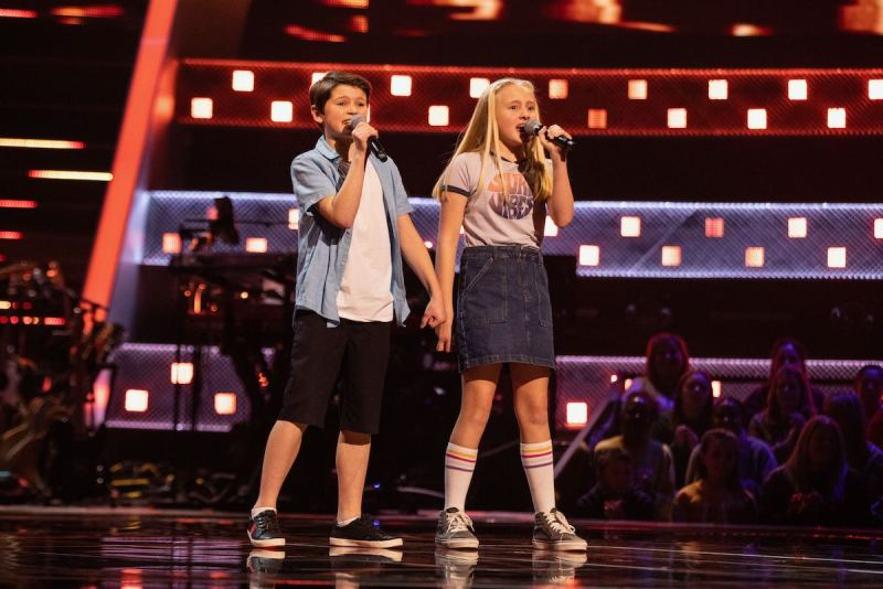 Summer and Lucca perform.