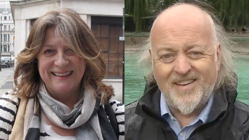 Bill Bailey and Caroline Quentin
