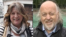 Bill Bailey and Caroline Quentin