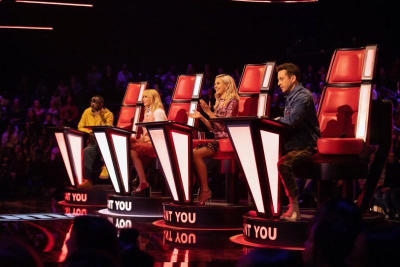 The Voice UK kids judges