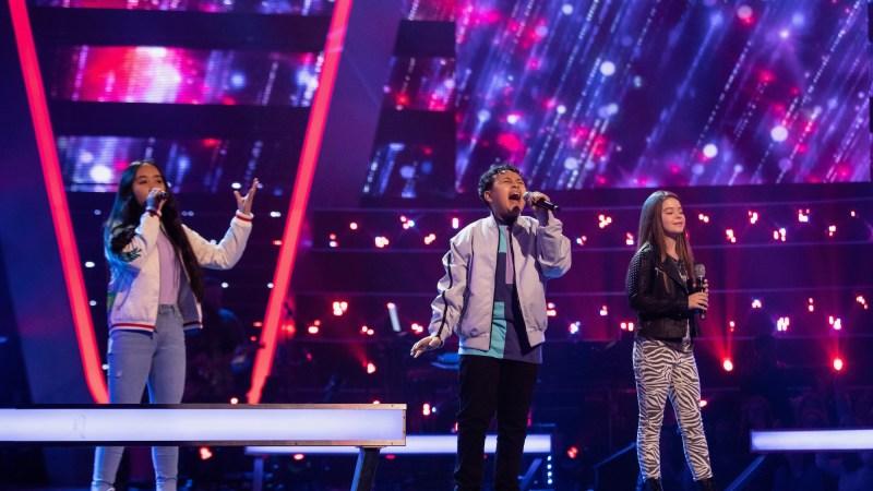 Team Pixie: Justine, Jai-Jae and Jemima perform.