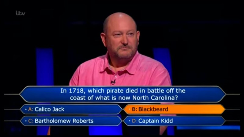Who Wants To Be A Millionaire winner