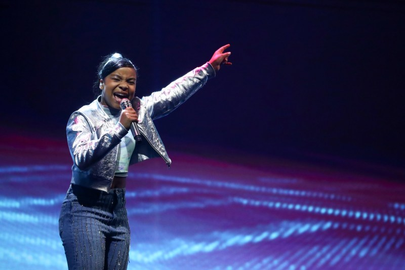 Singer Fayth Ifil
