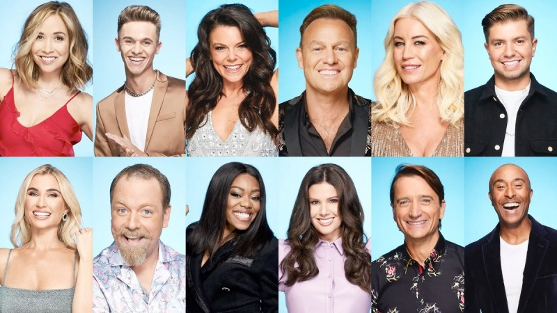 dancing on ice 2021 line up