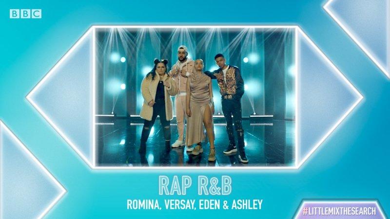 rap rnb little mix group