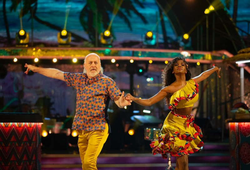 Bill Bailey, Oti Mabuse