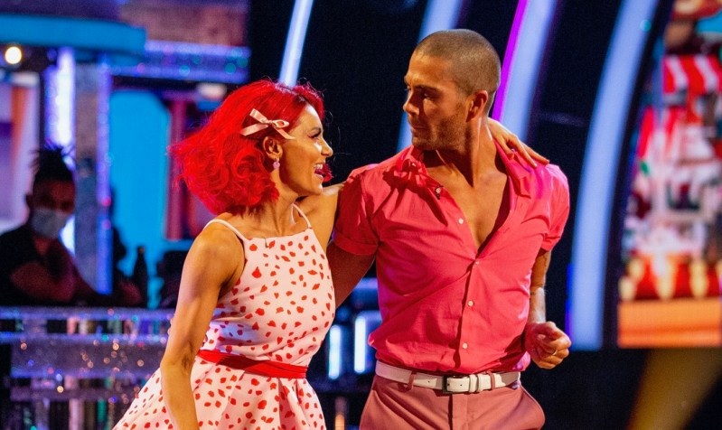 Diane Buswell, Max George - (C) BBC - Photographer: Guy Levy