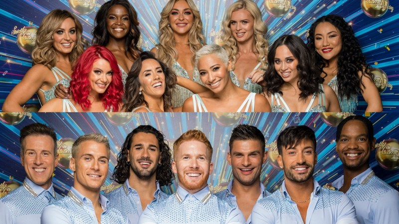 strictly come dancing pros 2020 pros line up