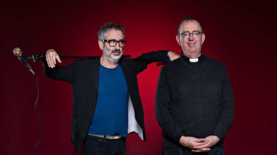Stand Up & Deliver David Baddiel and Rev Richard Coles