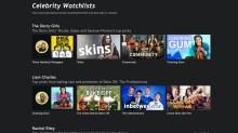 celebrity watchlists