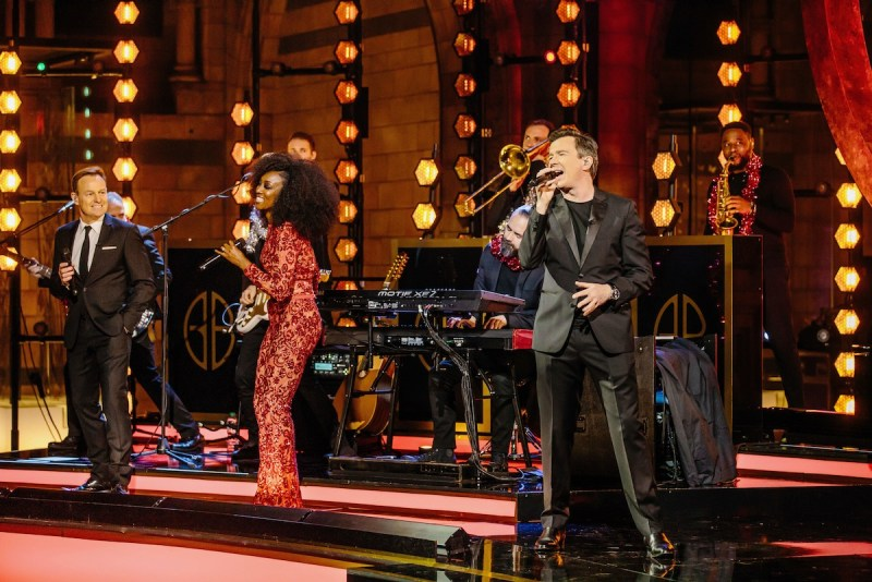 Jason Donovan, Beverley Knight and Rick Ashley. Picture: ITV