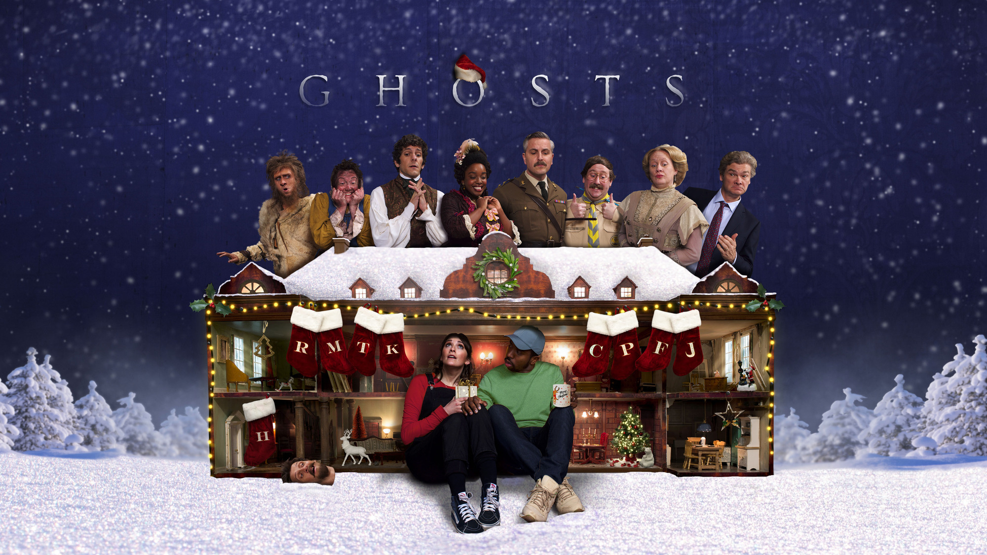 When Is The Ghosts Christmas Special On Tv Date And Cast For 2020 Festive Episode Tv Tellymix