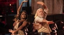 Bill Bailey, Oti Mabuse - (C) BBC - Photographer: Keiron McCarron