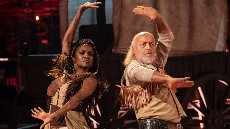 Bill Bailey, Oti Mabuse - (C) BBC - Photographer: Keiron McCarron