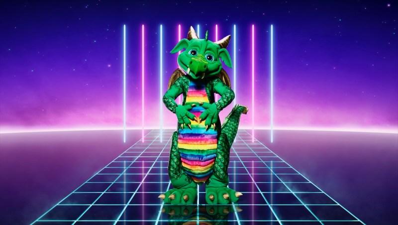 Dragon. Picture: ITV