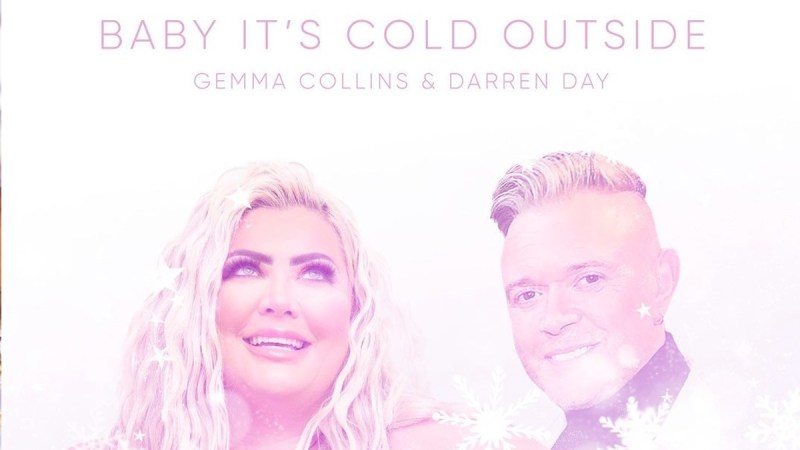 baby its cold outside gemma collins