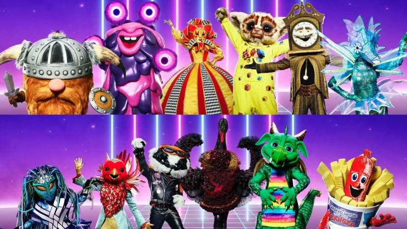 masked singer uk contestants series 2