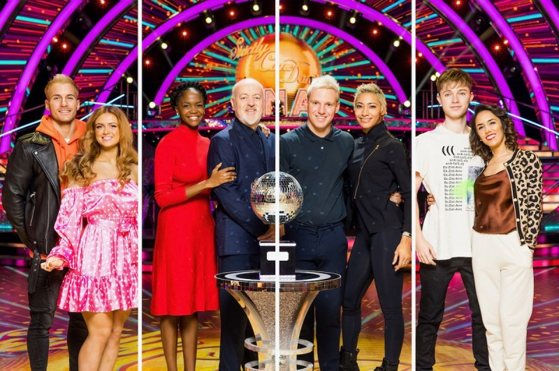 Strictly Come Dancing 2020 final results