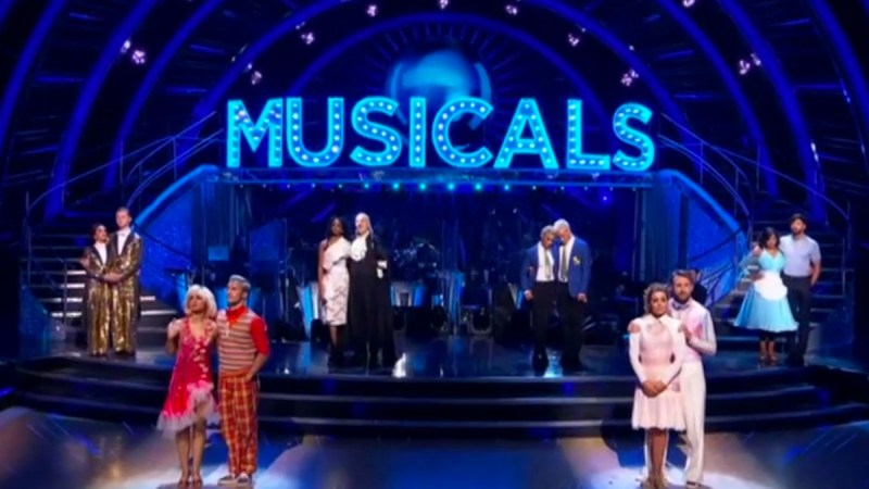 strictly come dancing results musicals 2020 6 december