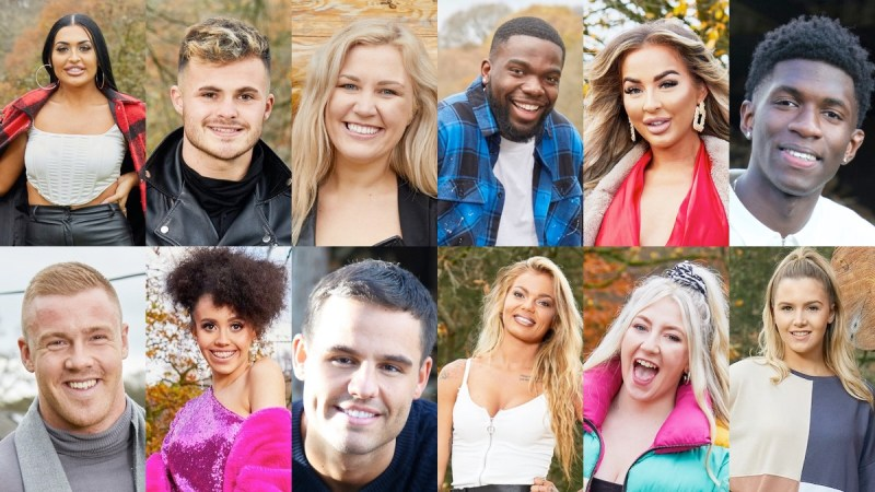 the cabins cast itv2
