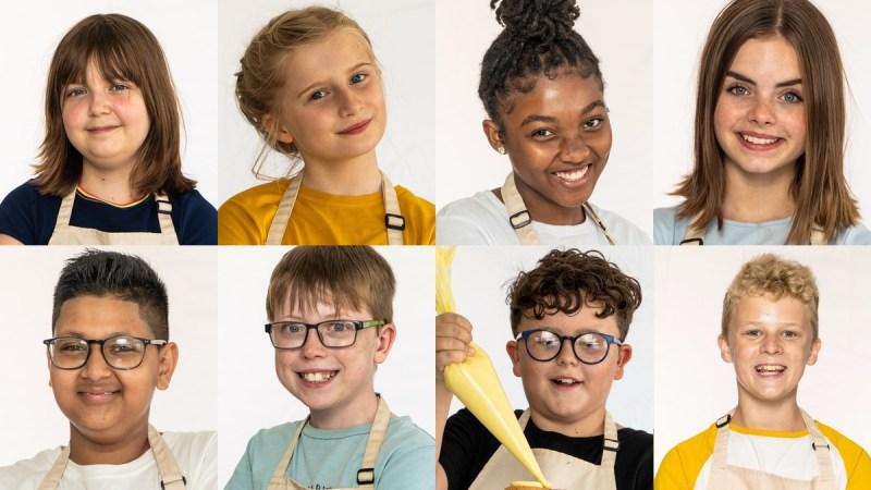 TOP (L-R) Sophia, Fern, Cece, Erin BOTTOM: (L-R) Reece, Charlie, Fyn Robbie