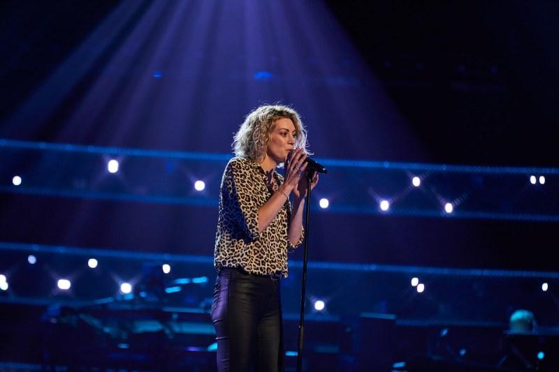 Victoria Heath performs.