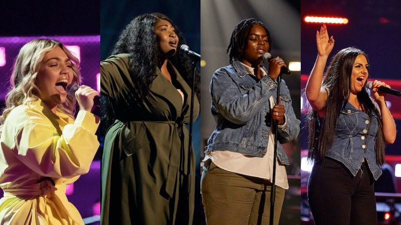 the voice uk 2021 week 3